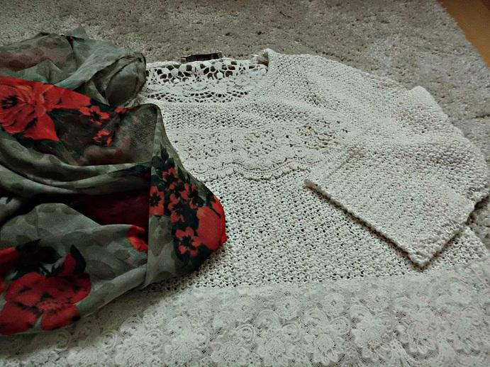 blusa+foulard
