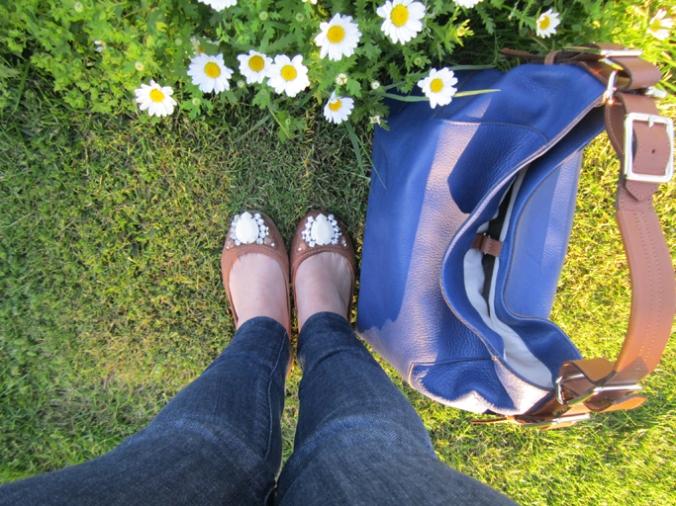 uterqüe bolso azul