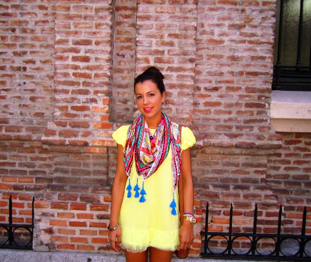 colourfull foulard