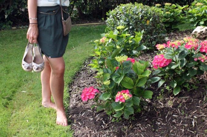 Kling skirt