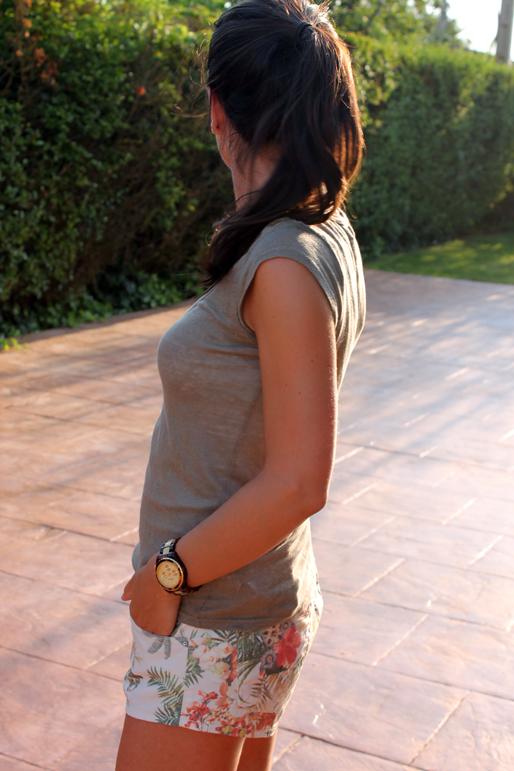 Short estampado Zara