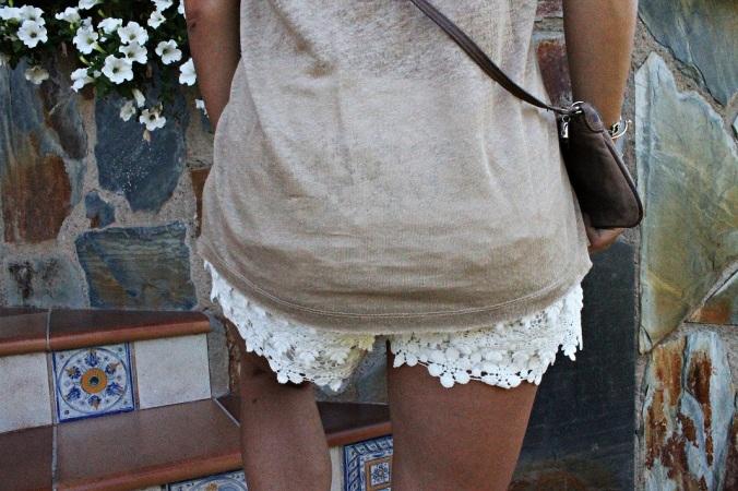 Back-Crochet Shorts