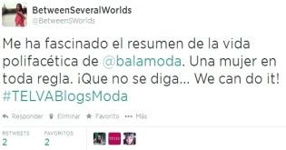 Twitt Encuentro Telva
