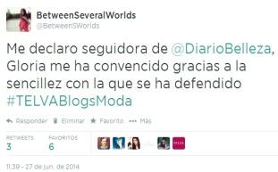 Twitter #TELVABlogsModa
