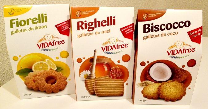 VIDA Free Galletas sin gluten